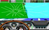 Stunt Driver DOS Crash (EGA/Tandy 16 colors)