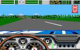 Stunt Driver DOS Wrong Way (VGA 16 colors)