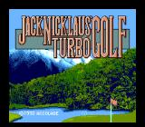 Jack Nicklaus' Greatest 18 Holes of Major Championship Golf TurboGrafx CD US Title screen: Turbo Golf
