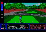 Jack Nicklaus' Greatest 18 Holes of Major Championship Golf TurboGrafx CD Lots of rough here