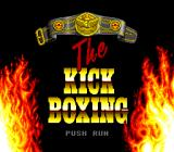 Panza Kick Boxing TurboGrafx CD Title screen