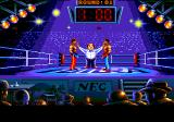 Panza Kick Boxing TurboGrafx CD The referee opens the match