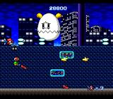 L-DIS TurboGrafx CD The egg mini-boss is watching with compassion. I have no time to pick up those power-ups