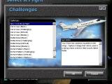 Microsoft Flight Simulator 98 Windows Choosing 'Select A Flight' from the main menu brings up another menu with three categories; Challenges, Flights and Adventures. The menus overlay each other and don't always hide each other