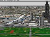 Microsoft Flight Simulator 98 Windows This is the Cessna Skylane 182S flying the New York Movies challenge flight.