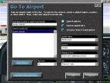 Microsoft Flight Simulator 98 Windows It is possible to start a flight and then change the current location to anywhere else in the world. Here a flight from Megis Field is being relocated to Queen Alia International airport in Jordan