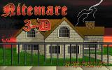 Nitemare-3D DOS Title screen