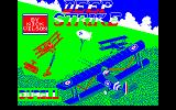 Deep Strike Amstrad CPC Title screen