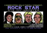 Rock Star Ate My Hamster Commodore 64 Title screen and credits