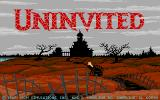 Uninvited Amiga Title screen