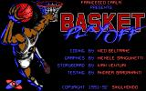 Basket Playoff DOS Credits/Title screen