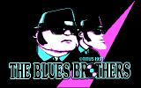 The Blues Brothers DOS Title Screen (CGA)