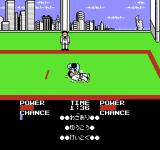 Moero!! Judo Warriors NES A takedown