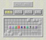 Minesweeper TurboGrafx CD Level and difficulty selection