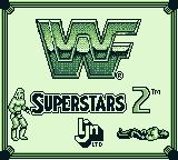 WWF Superstars 2 Game Boy Title screen