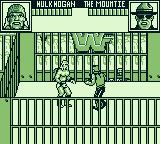 WWF Superstars 2 Game Boy Steel cage match
