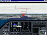 Washington D.C.: Scenery for Microsoft Flight Simulator 5 DOS The DC-Lear runway approach has the pilot flying up the Potomac river, over the Woodrow Wilson bridge to land at National Airport. The red boxes are the pilots guide