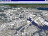 Washington D.C.: Scenery for Microsoft Flight Simulator 5 DOS The plane is not too far from the airfield and the limited area covered by this scenery add-on is apparent. Great in its day though