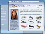Microsoft Flight Simulator 2004: A Century of Flight Windows The simulation is tagged 'A Century of Flight'. This is the section where the player can access the key planes of that century. Here the 'Spirit of St Loius' is targetted for selection