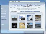 Microsoft Flight Simulator 2004: A Century of Flight Windows The Learning Centre is accessed via a tab on the left. It is a series of over 30 well illustrated 'How To' articles