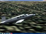 Microsoft Flight Simulator 2004: A Century of Flight Windows Mooney is an aircraft manufacturer I hadn't heard of. They made fast planes powered with Porsche engines. This is their Bravo model flying over Suriname