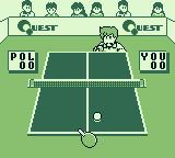 Battle Pingpong Game Boy Serving