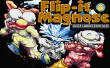 Flip-it & Magnose: Water Carriers from Mars Atari ST Title screen