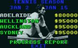 International 3D Tennis Atari ST Season progress report