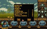 Ishar: Legend of the Fortress Atari ST Character info