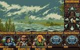 Ishar: Legend of the Fortress Atari ST To bad we can't swim...