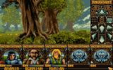 Ishar: Legend of the Fortress Atari ST In the forest