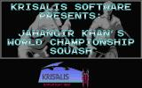 Jahangir Khan World Championship Squash Atari ST Title screen