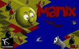 Manix Atari ST Title screen