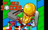 World Soccer Atari ST Title screen