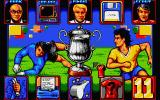 World Soccer Atari ST The games main menu