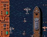 Banshee Amiga Flying over the Atlantikan Ocean