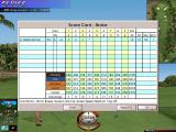 Links LS 2000 Windows The score card can be viewed at any time during a round