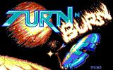 Turn n' Burn DOS Title screen (EGA/VGA)