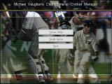 Michael Vaughan's Championship Cricket Manager Windows There are two main modes of play, a long campaign and a quick fix. Bit like a test match series and a one day event