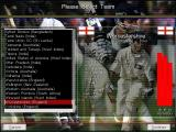 Michael Vaughan's Championship Cricket Manager Windows Using the Other Teams option from the main menu allows the manager to size up their next opponent