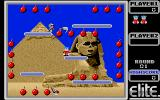 Bomb Jack Atari ST Beginning the first level