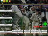 Michael Vaughan's Championship Cricket Manager Windows Yorkshire are batting. This is another view the manager can use during the game, it shows the opposing team's bowling stats.