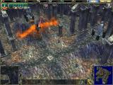 SpellForce: The Breath of Winter Windows A burning angle.