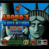 Abobo's Big Adventure Browser Title screen