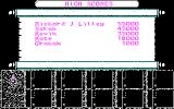 Dragons of Flame DOS High Scores (CGA)