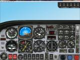 Microsoft Flight Simulator 2000: Professional Edition Windows The Mooney Bravo's instrument panel