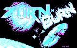 Turn n' Burn DOS Title screen (CGA)