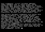 Lancelot Atari 8-bit A battle with the black knight reveals...