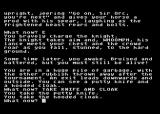 Knight Orc Atari 8-bit Starting out and collecting some items
