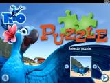 Rio: Mini Games Windows Puzzle mini game: selecting a puzzle.